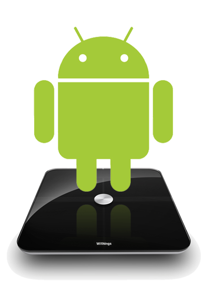 Android and the Withings scale
